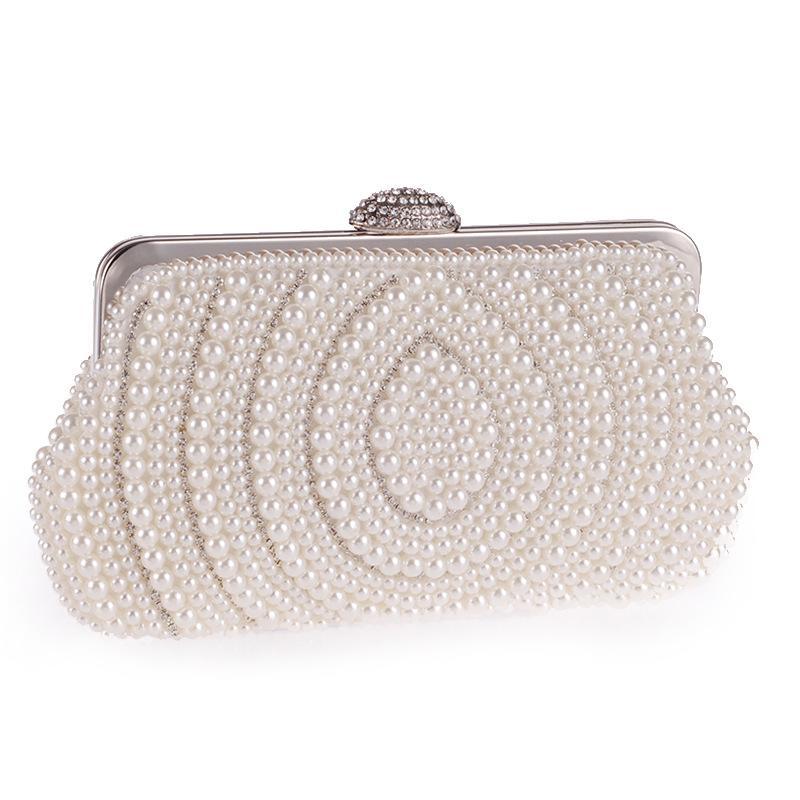 Versión coreana del exquisito bolso de noche con cadena de perlas NHYG154137