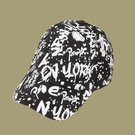NHTQ1462769-Alphabet-Graffiti-Baseball-Cap-Black-adjustable