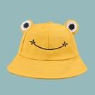 NHTQ1462750-frog-fisherman-hat-yellow-Children-(50-52CM)