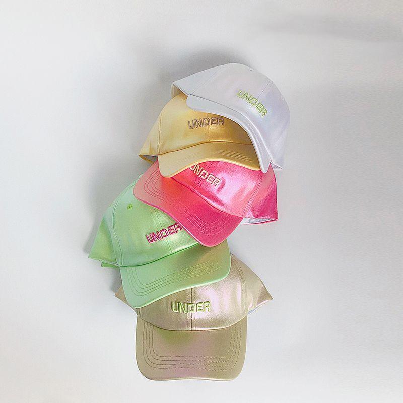gorra de béisbol infantil letras casuales NHQU317631