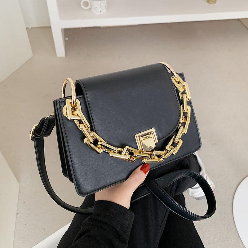 Bolso portátil del mensajero del hombro de la cadena gruesa de la moda NHTG325788