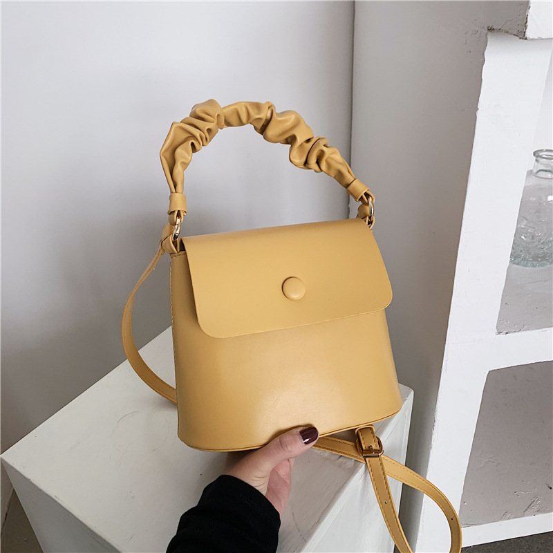 Bolso portátil coreano del mensajero del hombro del color del caramelo NHTG328754