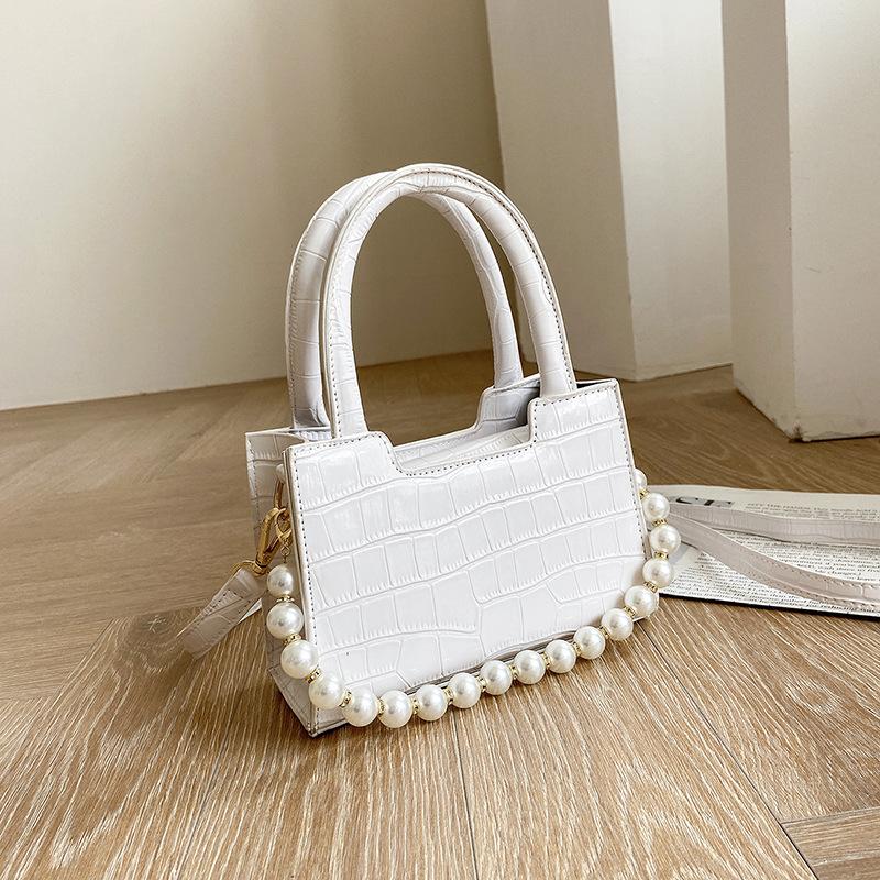 bolso de mensajero de cadena de perlas de moda NHJZ337564