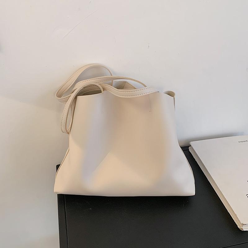 bolso de nube plegable de color sólido de moda NHJZ337571