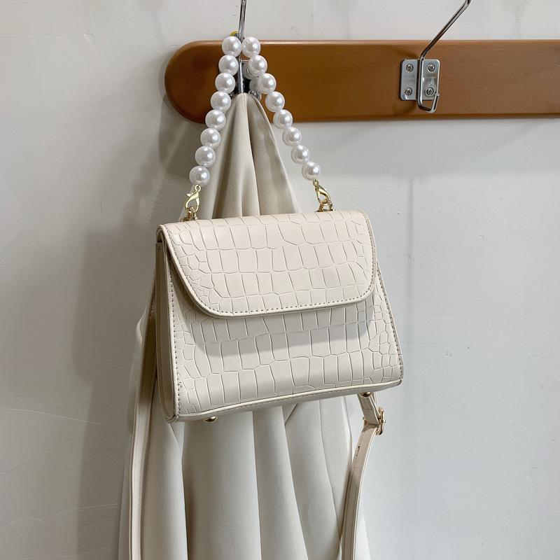 bolso de la perla del cuadrado del hombro de la cadena de moda de la nueva moda NHJZ337587