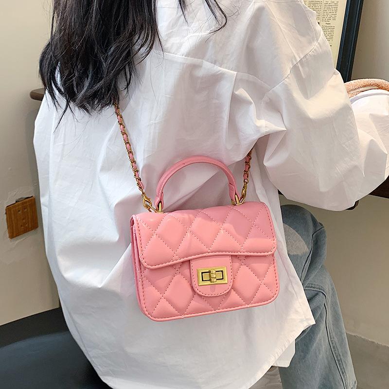 wholesale bolso de mensajero de un solo hombro con cadena rómbica de hilo de bordar  NHTG388388