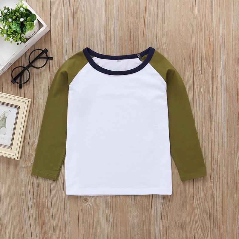 wholesale camiseta de manga larga a juego de colores para niños  NHLF390152