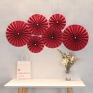 NHAH1809732-Bead-red-paper-fan