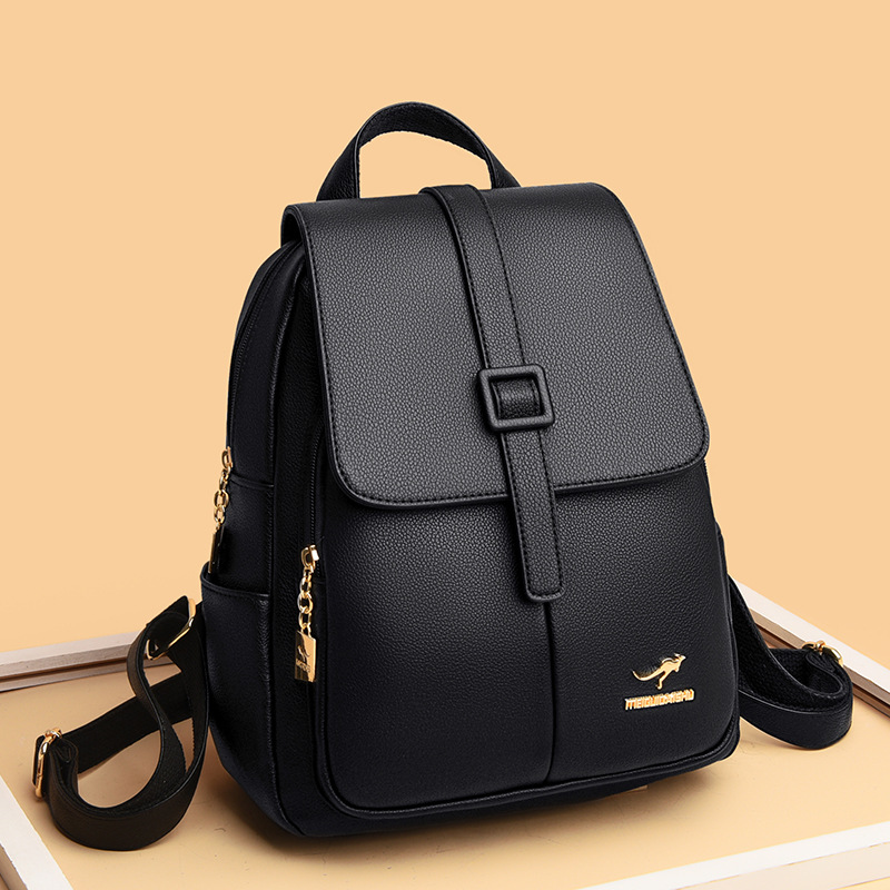 wholesale moda nueva canguro mochila de color sólido  NHAV392657