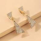 NHNJ1824201-Silver-Post-Golden-Triangle-Earrings