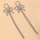 NHNJ1824244-Silver-Post-Silver-Butterfly-Earrings