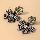 NHNJ1826837-Silver-Post-Bow-Earrings