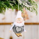 NHHB1837127-Pompom-doll-skiing-small-hanging-gray