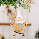 NHHB1837130-Pompom-doll-skiing-small-hanging-khaki