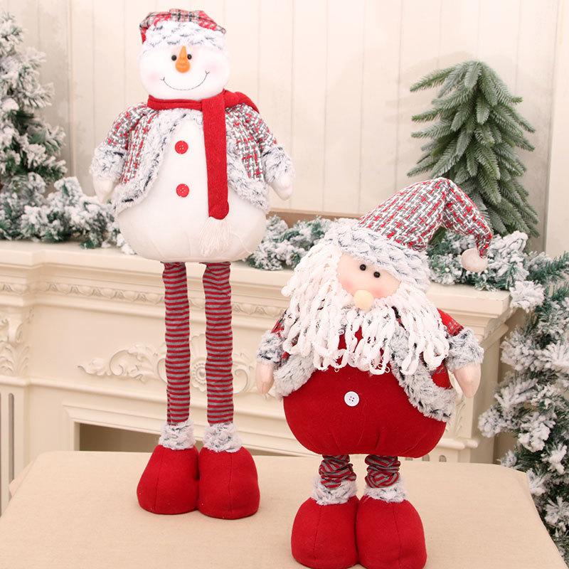 wholesale Nueva gran muñeca de Papá Noel retráctil de pie  NHMV394469