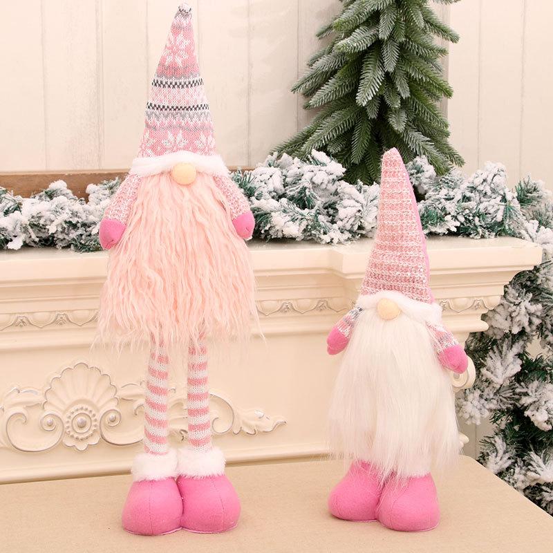 wholesale nueva muñeca retráctil sin rostro de Papá Noel  NHMV394470
