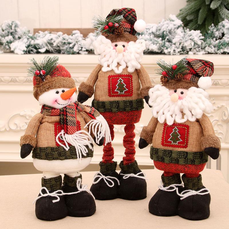 wholesale Nuevas decoraciones navideñas muñeca retráctil  NHMV394472