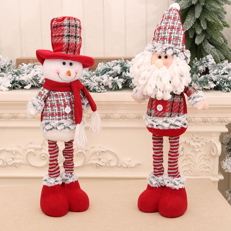 wholesale Nueva muñeca mediana retráctil Muñeca de nieve navideña  NHMV394474