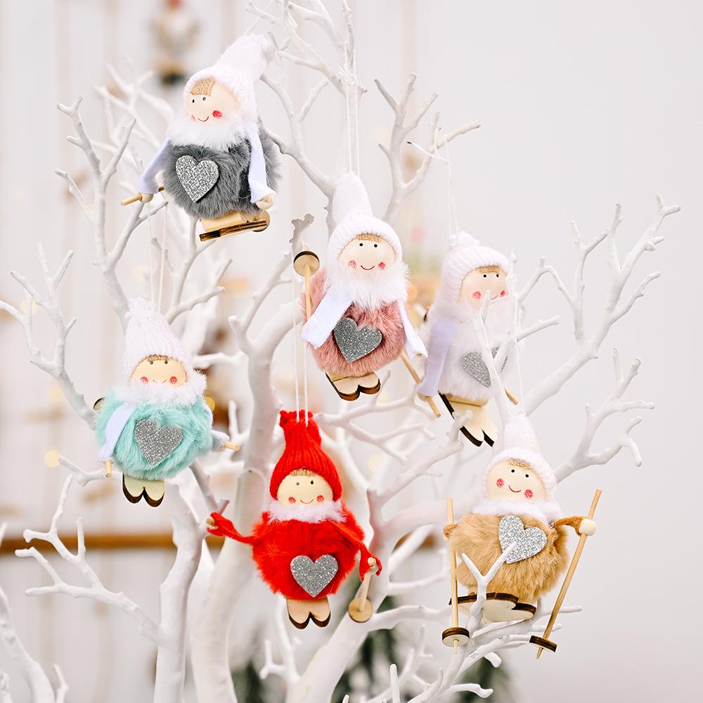 wholesale Muñeco de bola de peluche de Navidad colgante decoración  NHHB394487