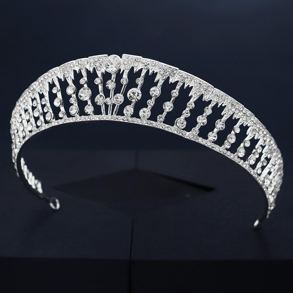 Nuevo diamante retro corona nupcial joyería de boda al por mayor  NHHS404926