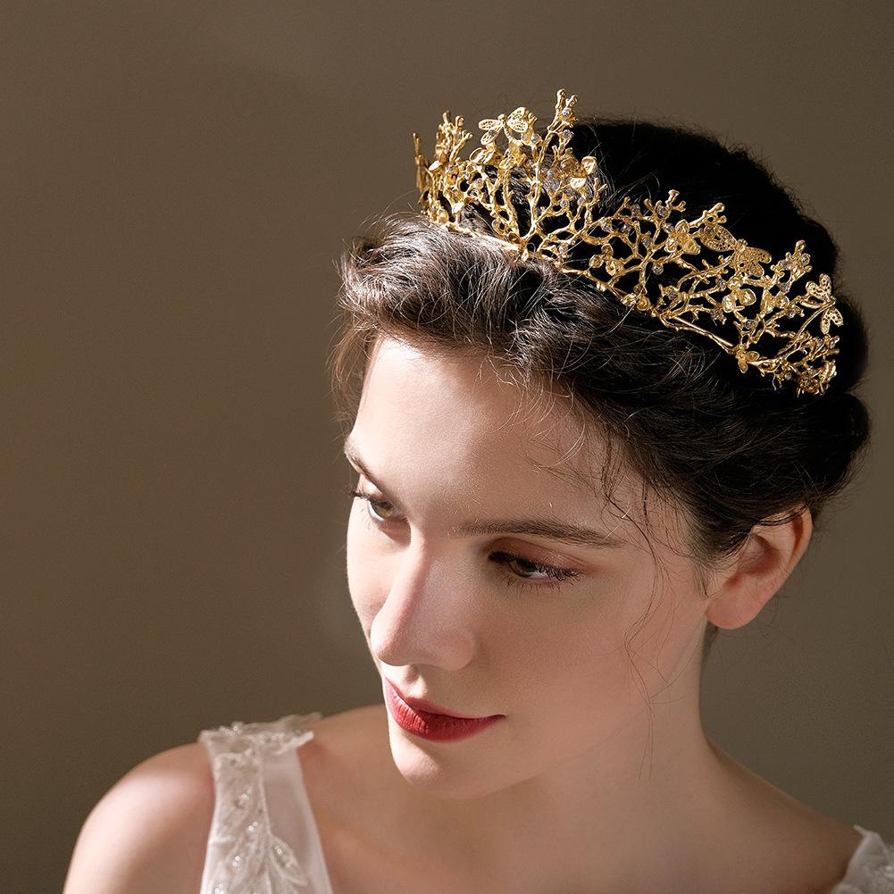 tocado de novia de diamantes de imitación de aleación de libélula de moda al por mayor  NHHS404959