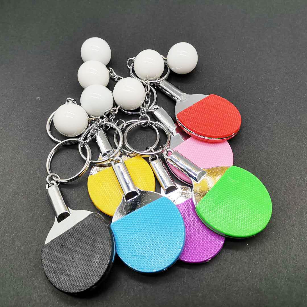 Llavero creativo de pelota de tenis de mesa al por mayor  NHYOU422343