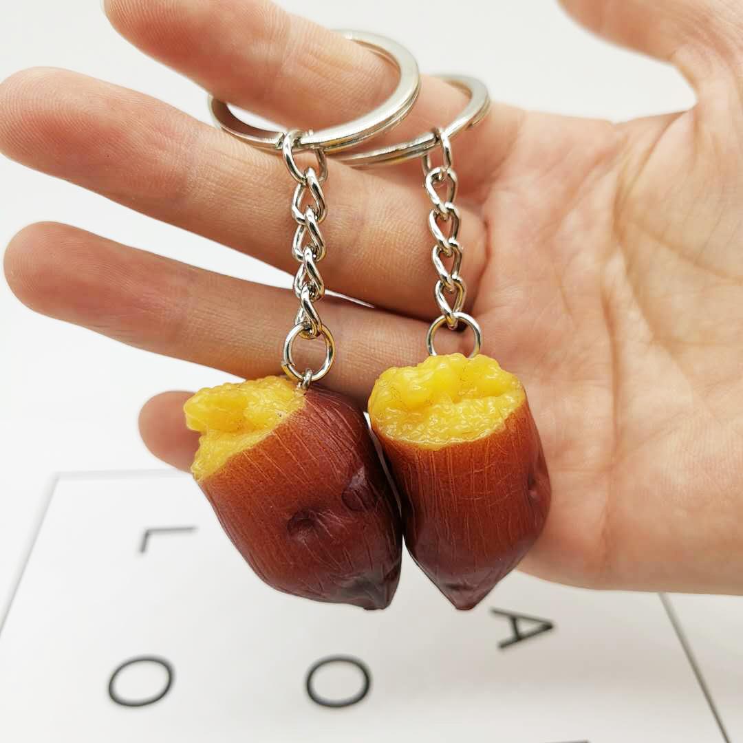 Colgante creativo del bolso del llavero de la batata asada al por mayor  NHYOU422344