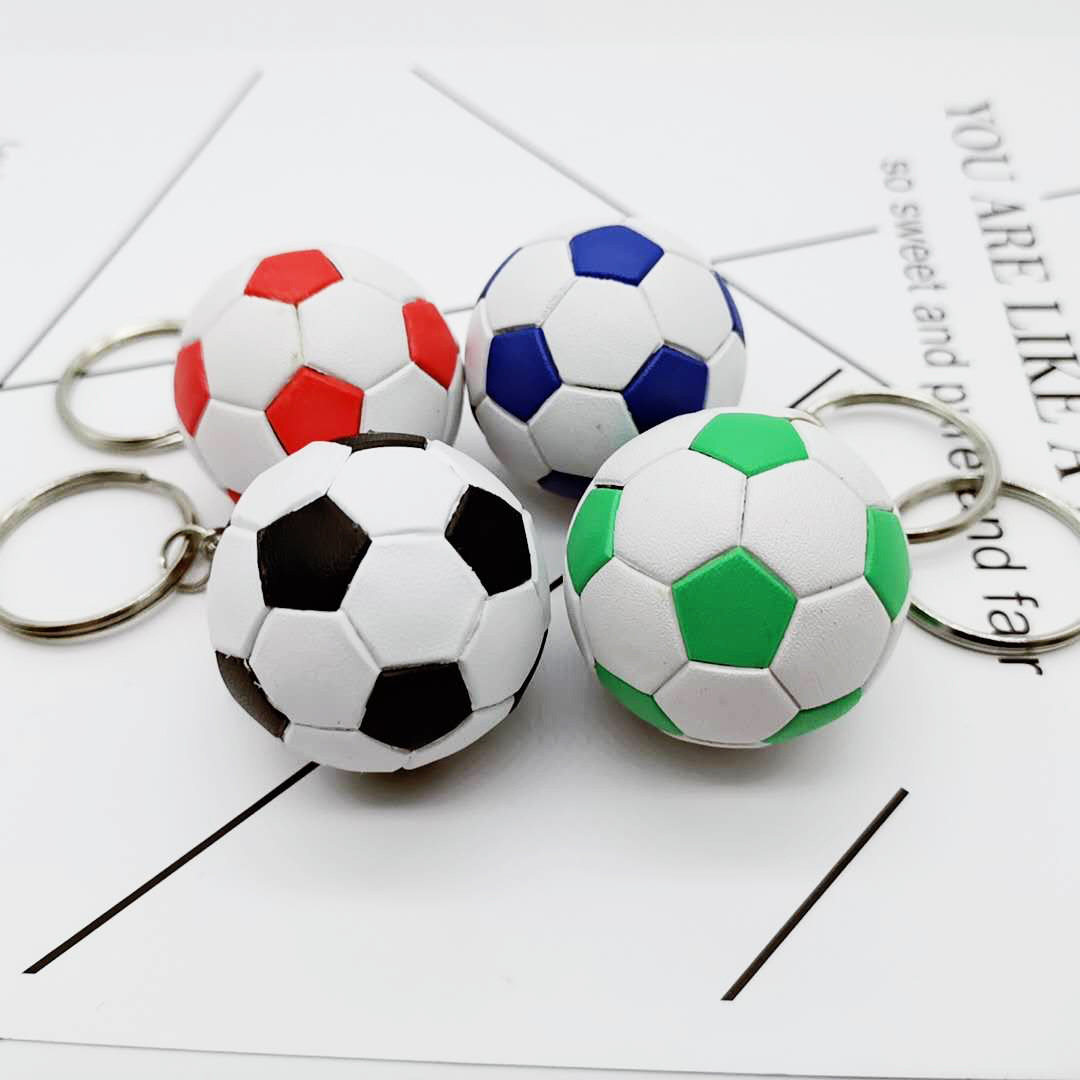 Llavero colorido creativo del fútbol de los 4cm al por mayor  NHYOU422357