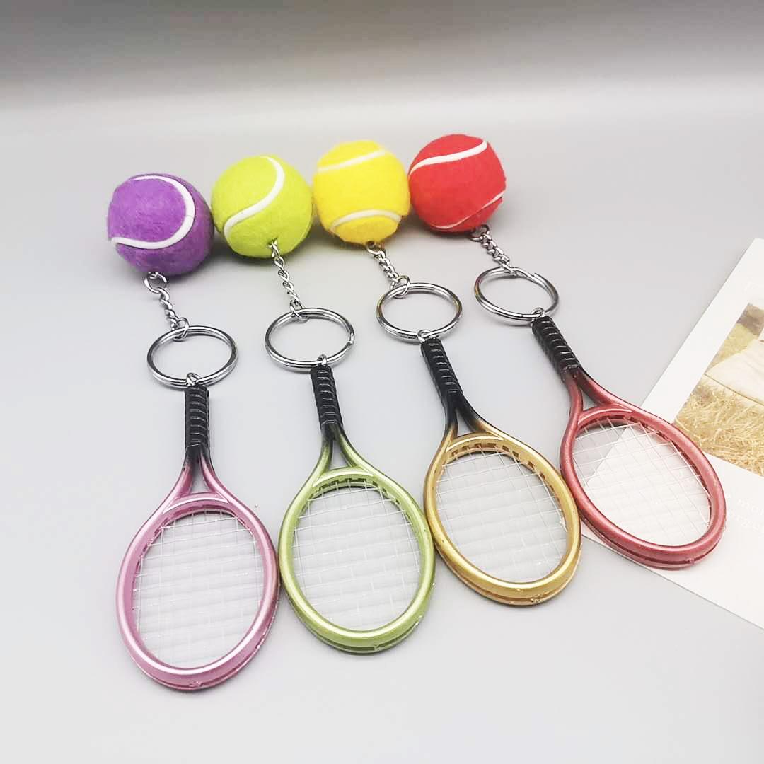 simulación creativa gran bolsa de tenis de 3,5 cm colgante llavero al por mayor  NHYOU422375